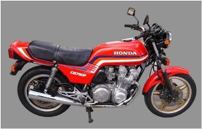 CB750 Honda Comstar Wheels
